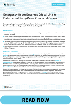 Early Onset Colorectal Cancer Research Brief thumbnail-BUTTON_v01