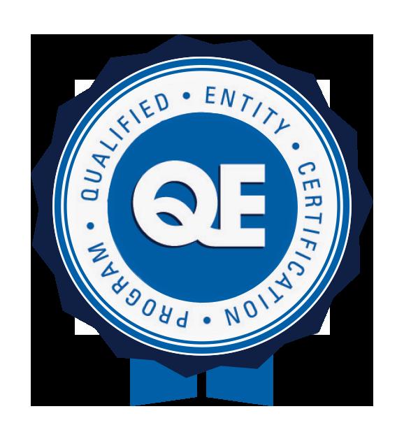 QE badge